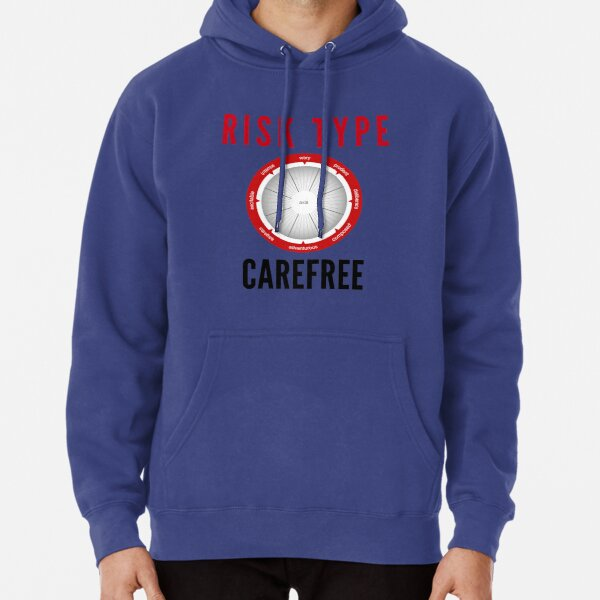 Risk Type Compass Carefree T Shirt Pullover Hoodie