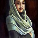 Lubna, a Self portrait by Lubna