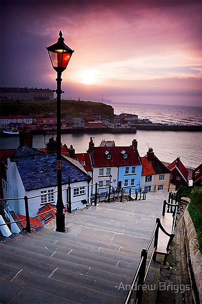 Whitby IX by Andrew Briggs