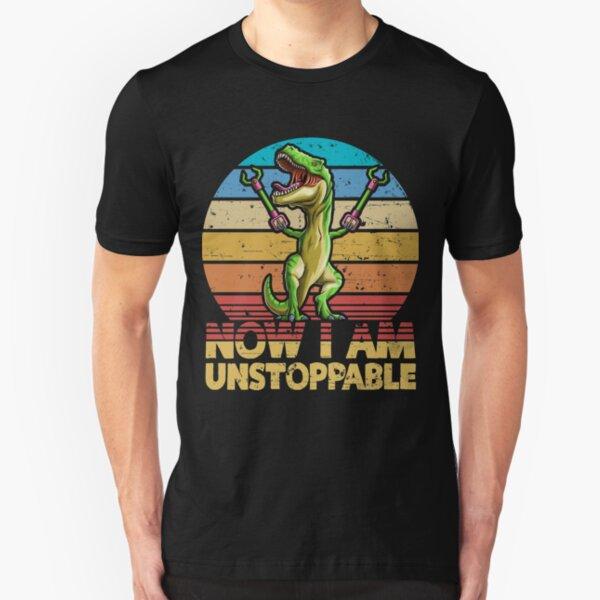 Unstoppable Children/'s T-Shirt  Funny Tee Invincible Dinosaur Birthday Xmas Gift