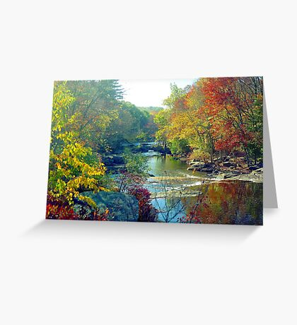 Autumn Foliage in Connecticut Greeting Card