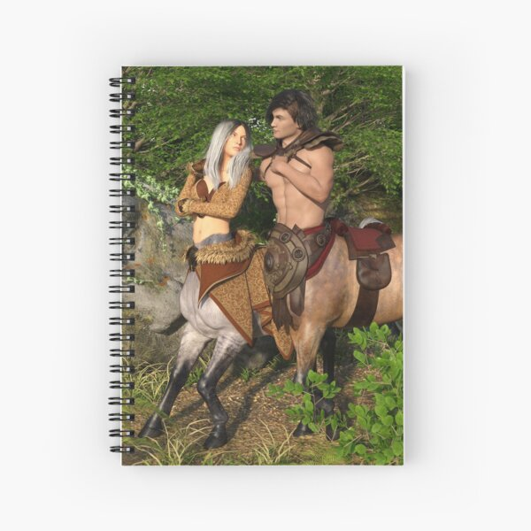 Centaur lovers Spiral Notebook