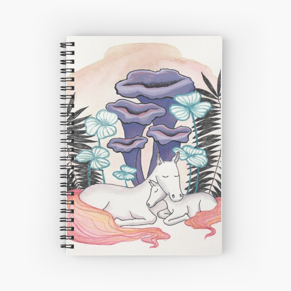 Mother and daughter Spiral Notebook