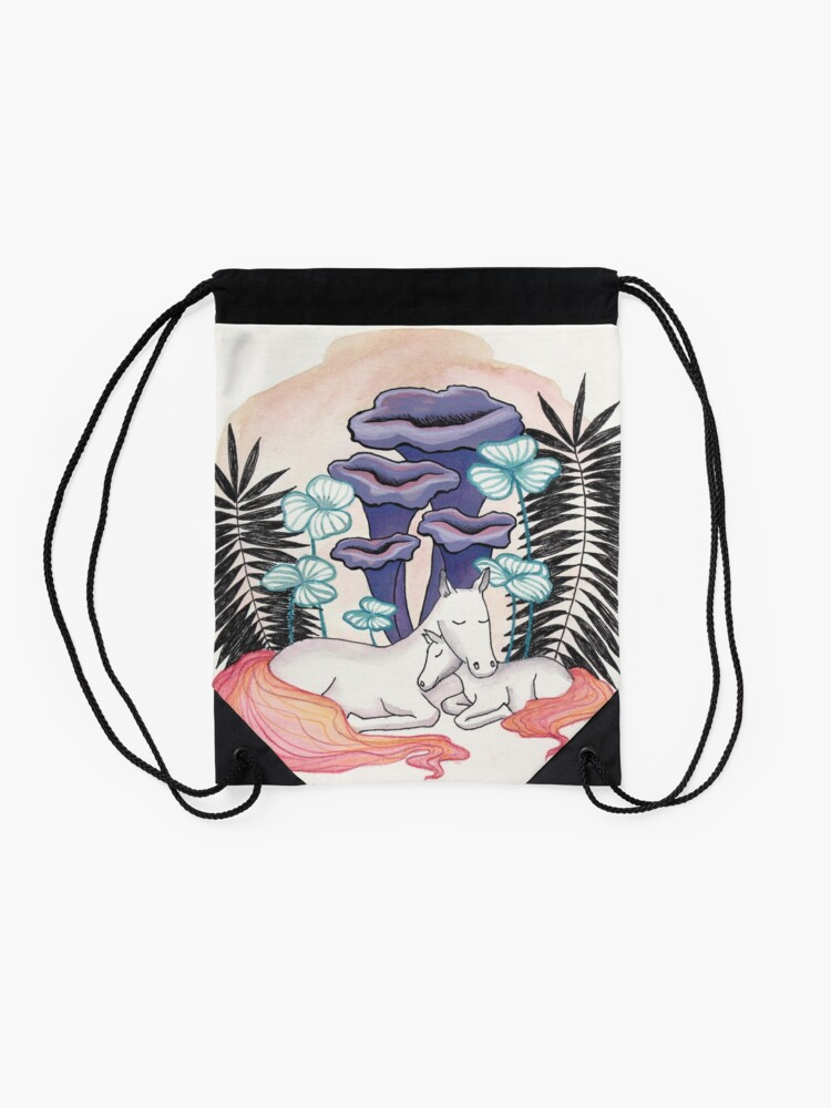 Alternate view of Mother and daughter Drawstring Bag