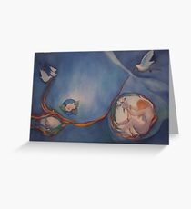 Finding me Greeting Card
