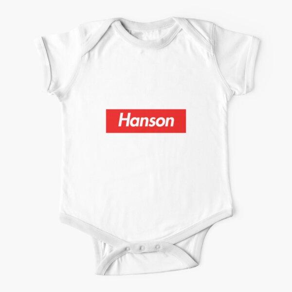 Hanson Family Name -  Hanson Short Sleeve Baby One-Piece