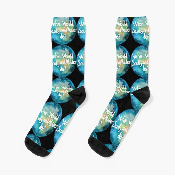 What Would Scully and Mulder Do?  Socks