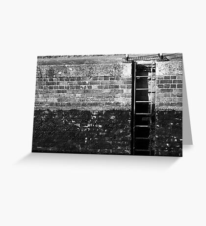 Ladder in the Lock Greeting Card