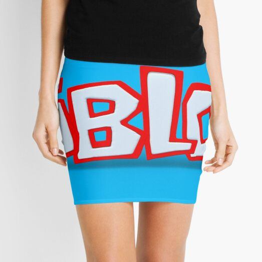 Roblox The Game Mini Skirts Redbubble