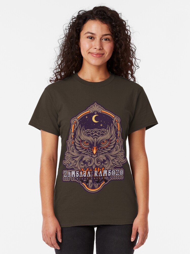 Alternative Ansicht von Zambada Rambozo - Musical Conversations Ep. 03 Cover Artwork light Classic T-Shirt