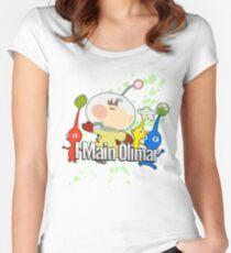 I Main Olimar - Super Smash Bros. Women's Fitted Scoop T-Shirt