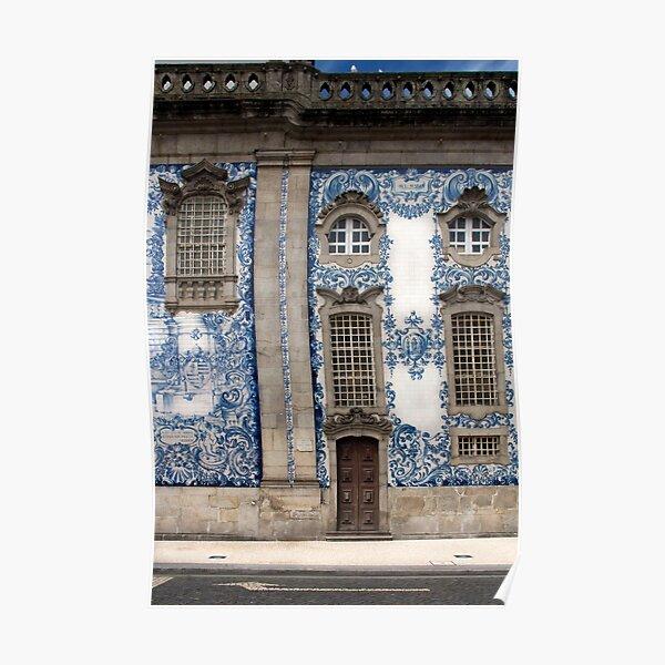 Carreaux bleu du Portugal Poster