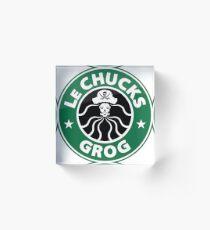 LeChuck's Grog Acrylic Block
