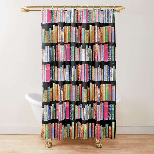 Bookworms Delight / Biblioteca de libros antiguos para bibliófilos Cortina de ducha