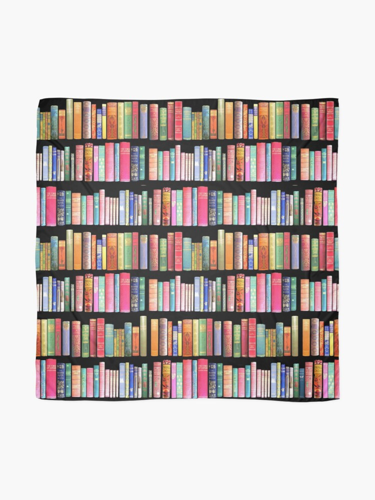 Alternate view of Bookworms Delight / Antique Book Library for Bibliophile Scarf