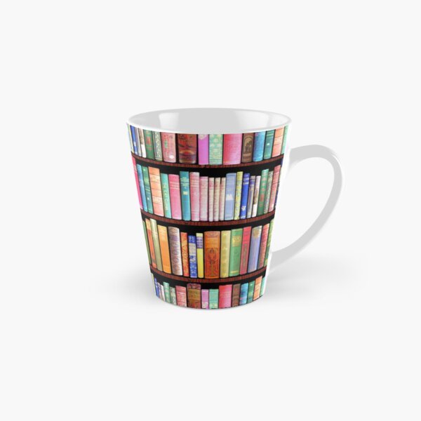 Bookworm Antique books Tall Mug