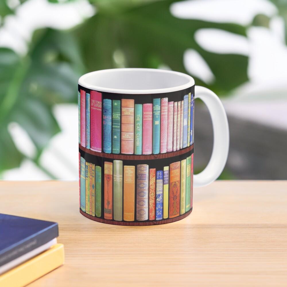 Bookworm Antique books Mug
