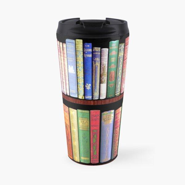 Bookworm Antique books Travel Mug