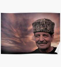Cossack Jim At Sunset Poster