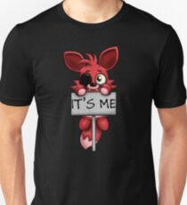 FNAF Plush Foxy Slim Fit T-Shirt