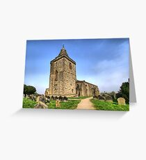 St Oswald's Church, Lythe Greeting Card
