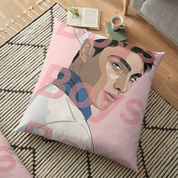 BOYS BOYS BOYS  Floor Pillow