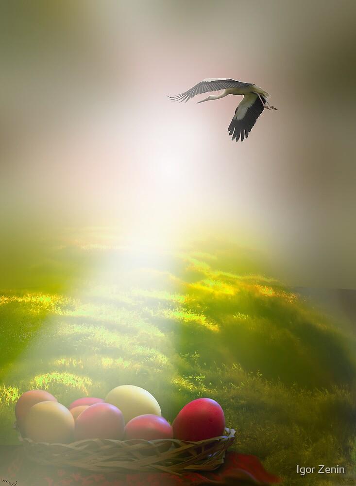 Easter Sun Rays by Igor Zenin