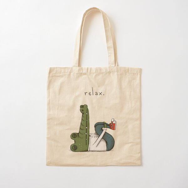 Relax Cotton Tote Bag
