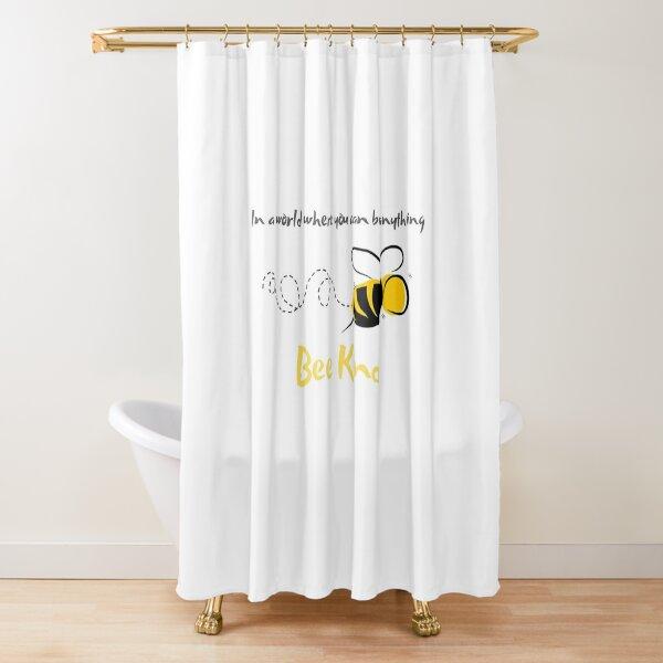 Bee Kind Shower Curtain