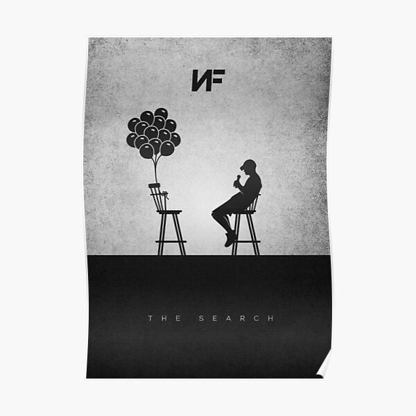 NF Talking to His Balloons v2 Poster