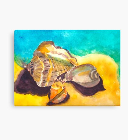 Shells in Paradise Canvas Print