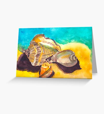 Shells in Paradise Greeting Card