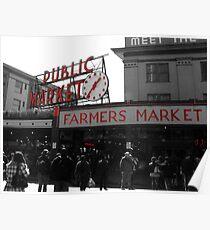 Public Market Center Poster