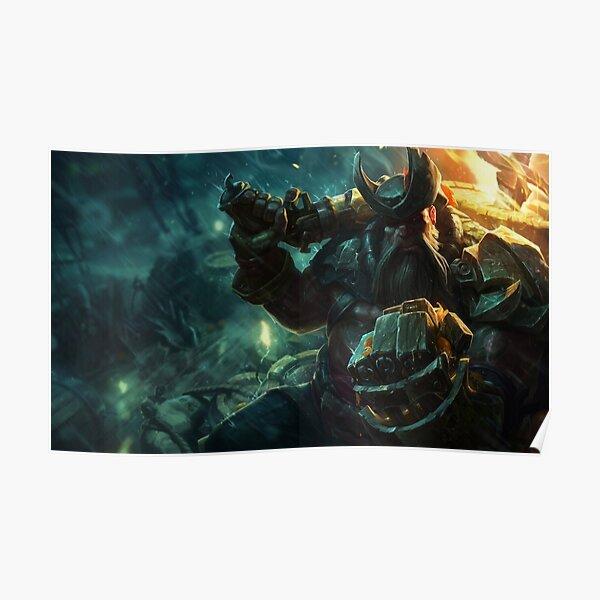 Gangplank Splash Art - League of Legends Poster