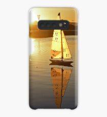 Aubery Yachts Sunset Case/Skin for Samsung Galaxy