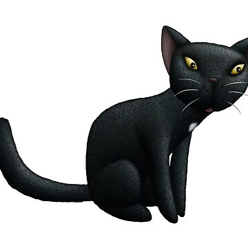 Black Cat by mikelevett