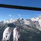 le mie scarpe il monte rosa vicini vicini...3250 mt....italy  europa ... by Guendalyn