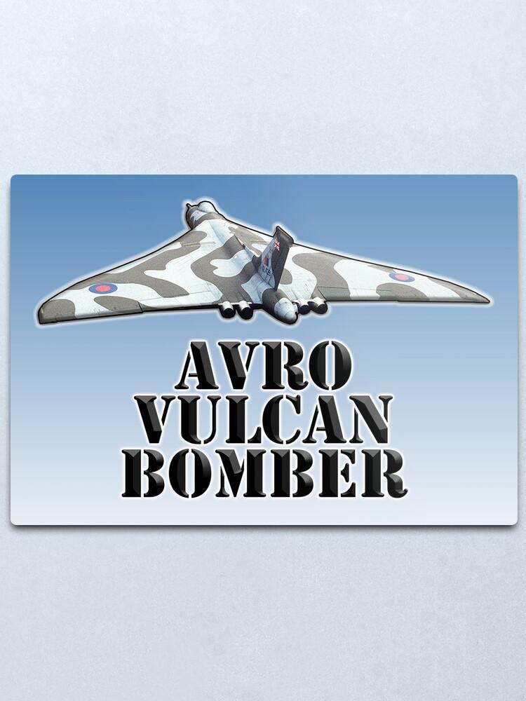 RAF ROYAL AIR FORCE AVRO VULCAN BOMBER SWEATSHIRT