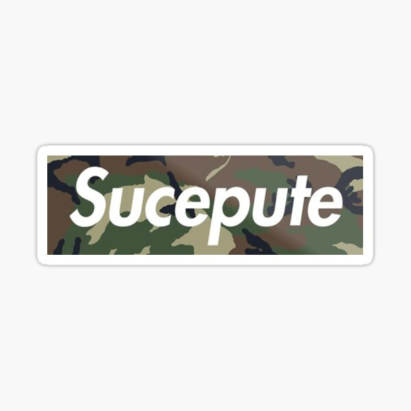 SUCE PUUUUTE Sticker