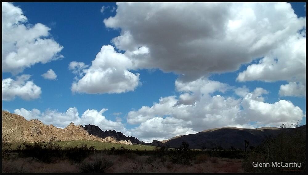 Shadows In The Valley - Mojave by Glenn McCarthy