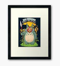 Eco warrior Framed Print