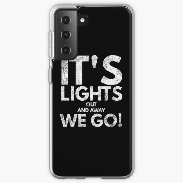 Ses lumières s'éteignent et c'est parti! Coque souple Samsung Galaxy