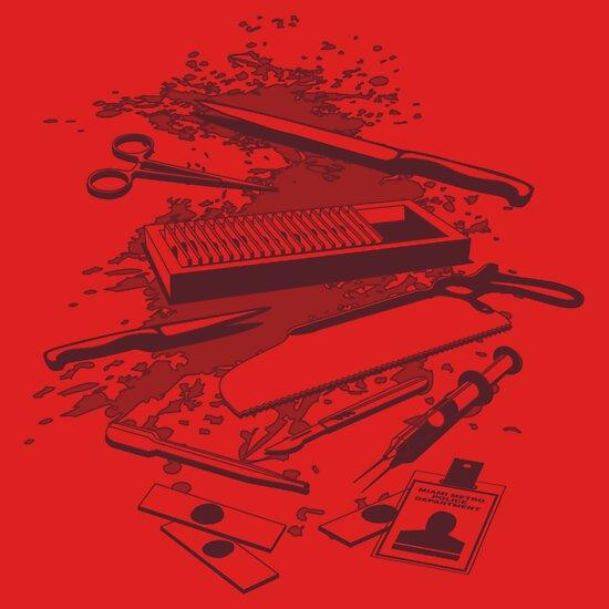 TShirtGifter presents: Serial Killer Toolbox