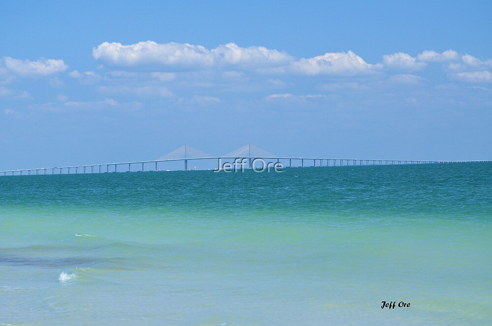 The Sunshine Skyway by Jeff Ore