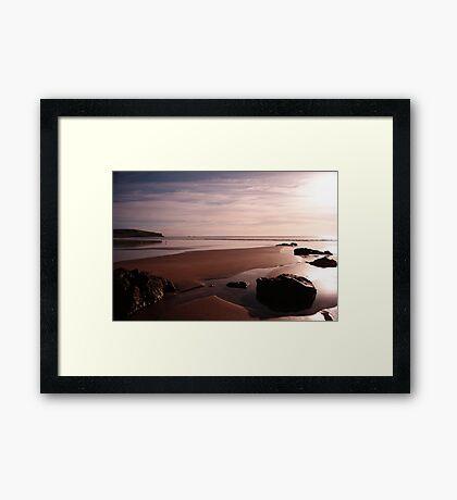 Godfrey's Beach Sunrise Framed Print