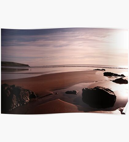 Godfrey's Beach Sunrise Poster