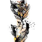 « Illustration marguerite » par silowane