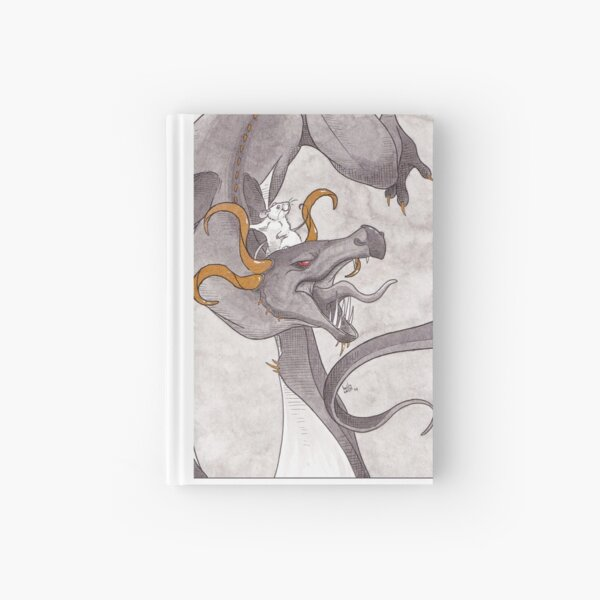 Daenerys and her Dragon Hardcover Journal
