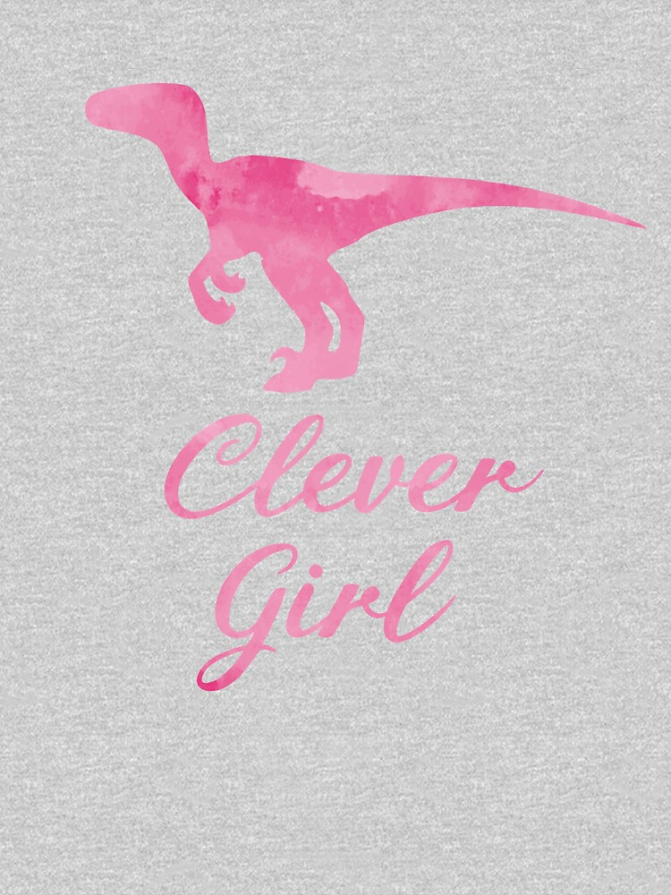 Clever Girl Pink Raptor by TheJollyMarten