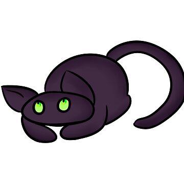 Black Cat by princeofjupiter